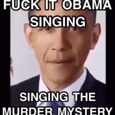 so who did it Barack?? 🤔🤔🤔