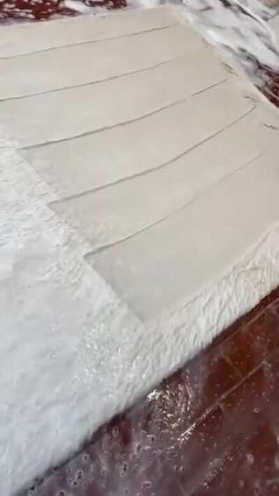 Very satisfying rug cleaning