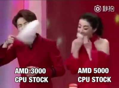 Big appetite for AMD CPU