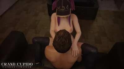 KDA Akali Home Sex [League of Legends] (Grand Cupido)