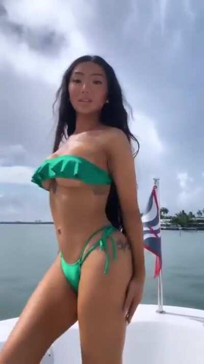 on boat 2