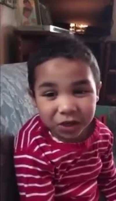 This Adorable Little Man Sings An Uplifting Cheerful Song