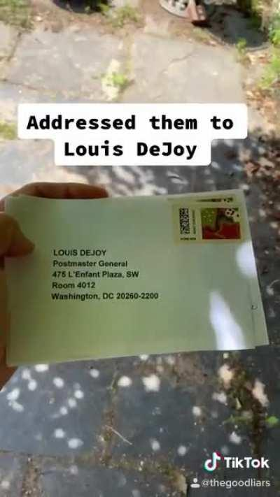 I Don't Think The Postmaster Is Ever Going To Live This Down