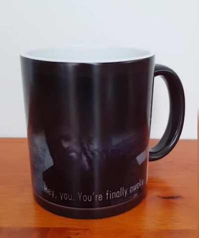 The Skyrim Mug: replenishes all health when drunken. has a 50% chance to make you wake up in an imperial ambush.