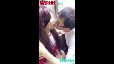 Japanese Virgin pays $5K for first kiss!?