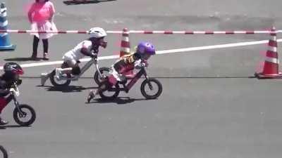 It's a bike race right?