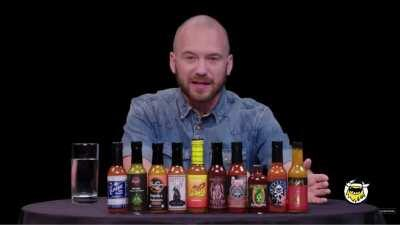 this Hot Ones was really wholesome