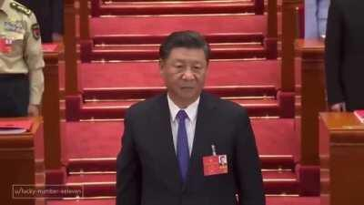 A national address from Xi Jinping:
