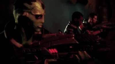 Трейлер Mass Effect 2 в стиле первого трейлера Отряда Самоубийц
