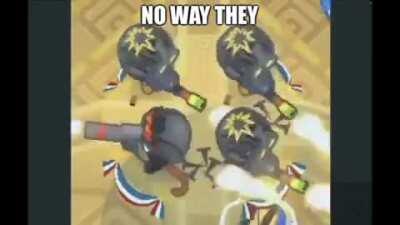 No way they