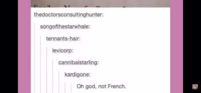 OH NO THE FRENCH