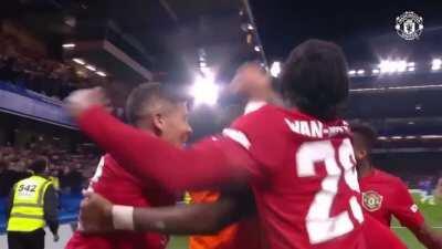 Marcus Rashford's free-kick vs. Chelsea