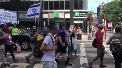 The Straight Pride parade looks about as fun as you'd imagine. (Credit to Kelly Sullivan @ksullivannews on twitter)
