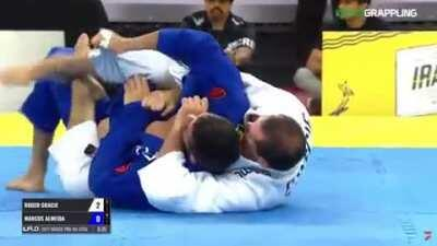 Roger Gracie comes out of retirement to sub reigning Absolute IBJJF and ADCC World Champion Marcus Almeida in just 7 minutes.
