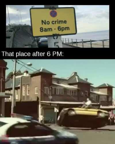 Free real estate for criminals