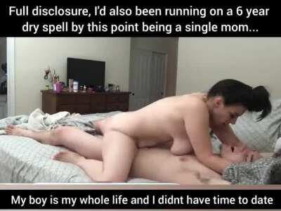 Her boy was leaving for college a virgin, so she decided to teach him the right way to make love
