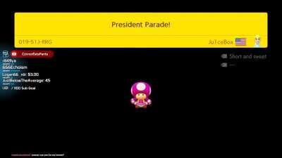 Presidential Parade