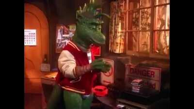 Dinosaurs go ahh ooo