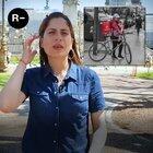 Entrevista a Nayrubi, la repartidora de PedidosYa que se viralizó por una foto de ella en bicicleta con un bebé