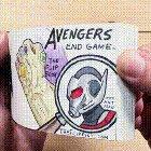 Avengers Endgame flip book