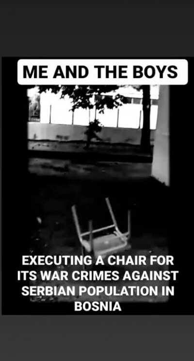 This chair killed about 50 million people 😤😤😱😱😤😱😤😱😱😱😠😠😠