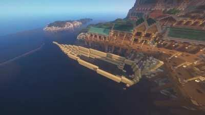 Boats are the hardest thing for me to build in Minecraft. I think this is the first time I've ever been proud of a boat build! Feedback would be appreciated.