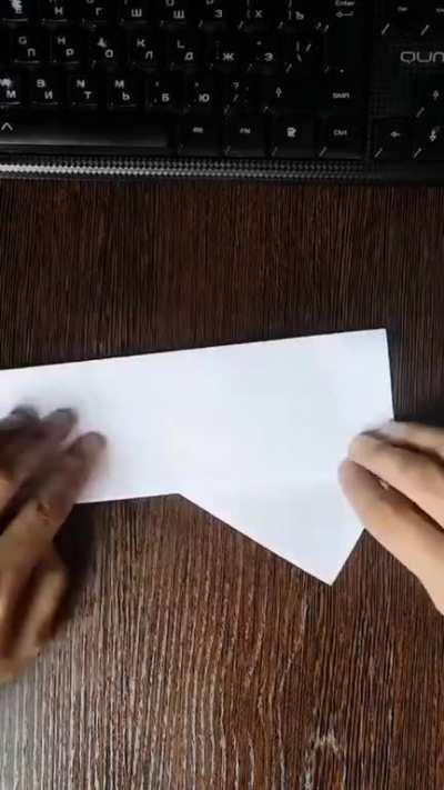 How to create a paper bat [X-Post From /r/LearnUselessTalents]