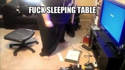 all my homies hate sleeping table