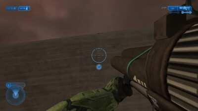 Trying to get the scarab gun in Halo 2 with the IWHBYD skull and this caught me off guard