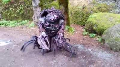 An awesome cosplay of the Garthim creature from the Dark Crystal