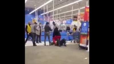 Beating Up the Walmart Greeter Because They Asked You To Wear A Mask