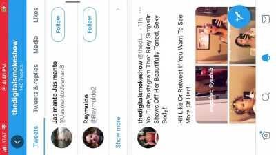 YouTube/Instagram Baddie Riley Simps0n Nude Leaks! Twitter:@thedigitalsh