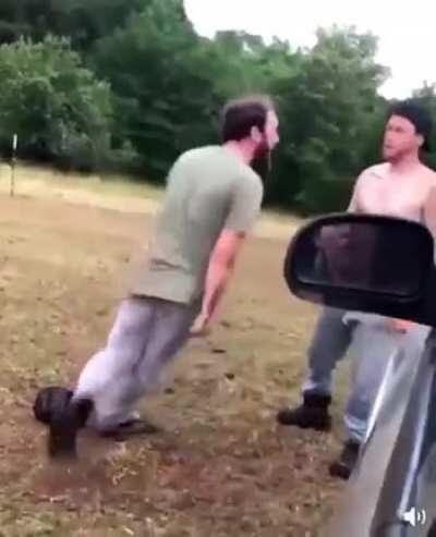 What could go wrong smashing your head before a fight?