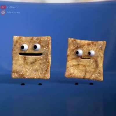 The taste of a cinnamon toast