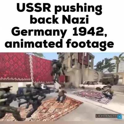USSR, the dancing protector