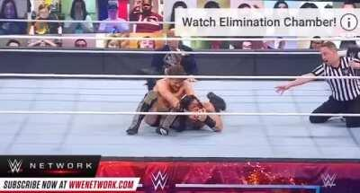 Daniel Bryan's Spear-to-YesLock reversal was smooth as butter