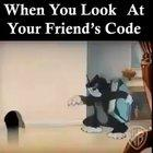 When you look at your friend's code