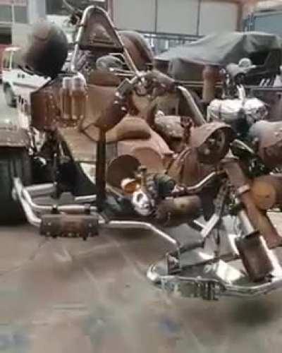 Вот такой агрегат катается по дорогам Анкары!