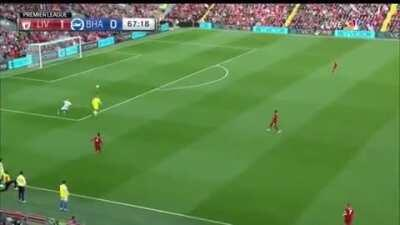 Throwback to when Alisson showed he's not just good with his hands