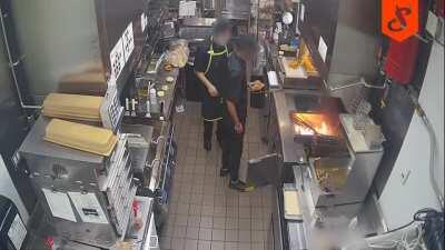Sir, we have to cancel that fries order.
