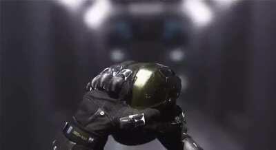 Doom guy with Mastechief Armour!