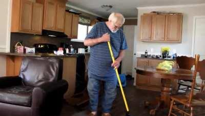 Angry Grandpa Gets Robbed And Screams...