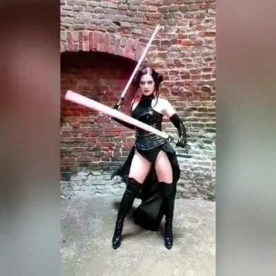 Black princess Leia is so slay, Credit purplemuffinz