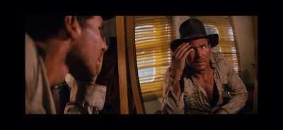 Indy gets hurt.
