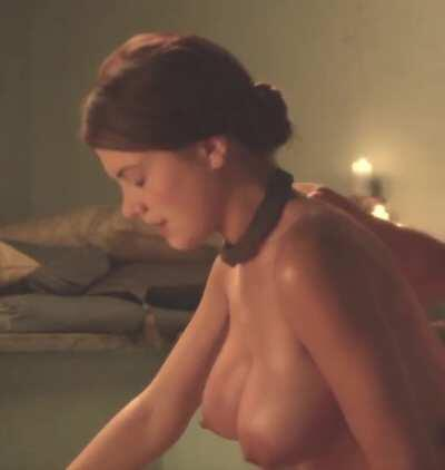 Laura Surrich in Spartacus: Best pair of tits from a unknown actress in a show that i've ever seen