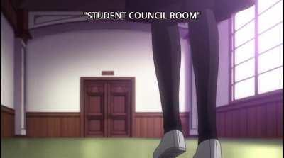 What's happening in the student council room