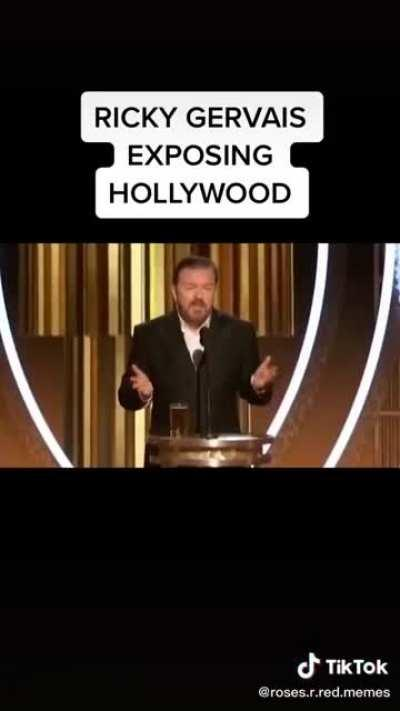 Ricky Gervais nailed this