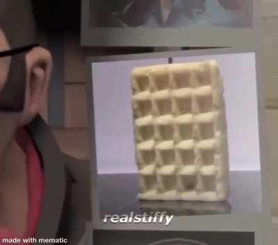 Heavy is... waffle???