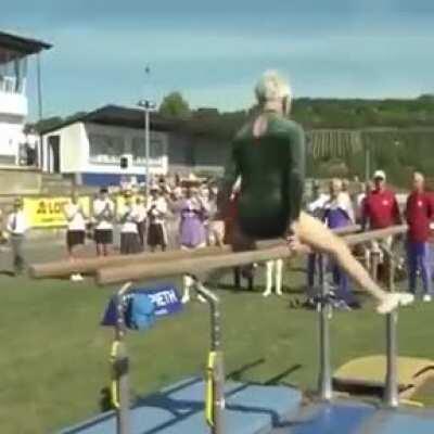 Johanna Quaas, the 95-yr-old Gymnast from Germany
