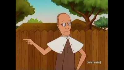 Dale Gribble's cure to lice
